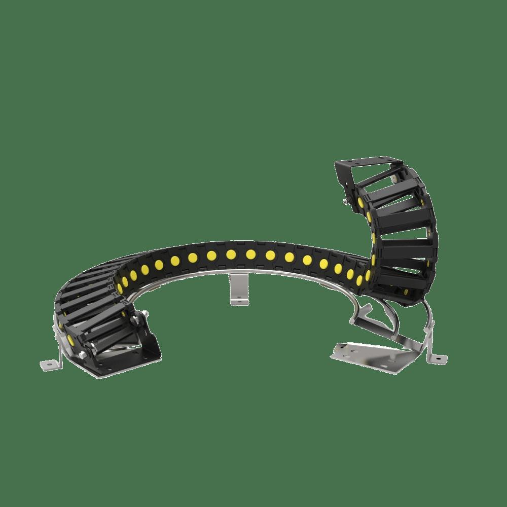 cadena portacables para robotica
