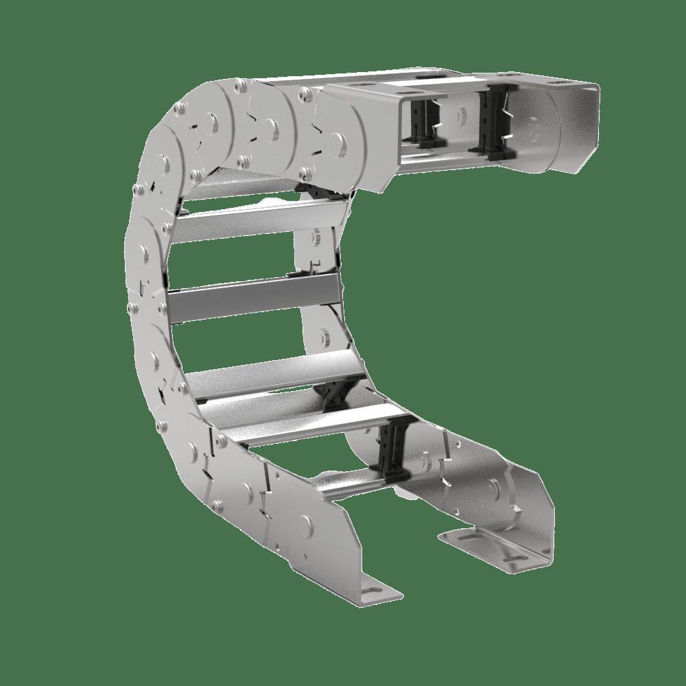 cadena portacables de acero